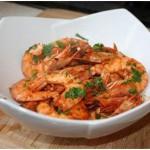 Caribbean Food: Peppered Prawns (Shrimps)