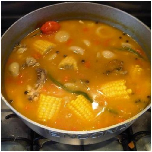 Caribbean food chicken foot soup caribbean news sports for Trinidad fish broth