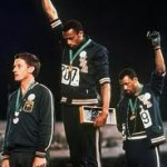 A Salute of courage  – Mexico City Olympics 1968
