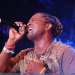 Soca Superstar Edwin Yearwood performs at CropOver 2012