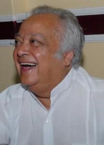 Sir Shridath Ramphal.
