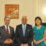 World Bank visits TT High Commissioner
