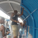 SVG Port Authority Club adopts bus stand