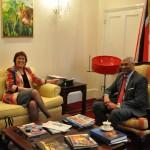 TT High Commissioner receives New Zealand HC