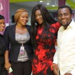 Mercy Johnson and Rukky Sanda visit iROKOtv HQ