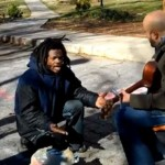 Homeless Jamaican Man gives a surprising Performance