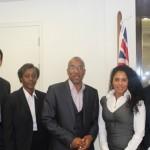 Caribbean Overseas Territory Representatives meet CIBN