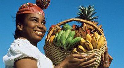 Guadeloupe woman