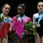 First Black World Champion Gymnast suffers racist jibe