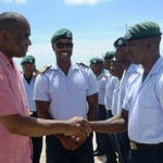 Barbados forces praised by Dominica Prime Minister