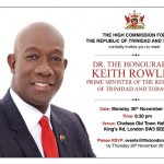 Come and meet the PM of Trinidad and Tobago