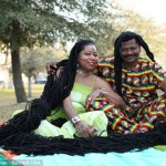 Woman with world's longest dreadlocks finds love