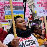 Facebook user shares account of racism in London