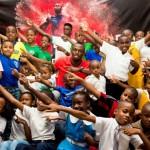 Usain Bolt delights kids at Kiddie Press Conference