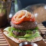 Healthy Jamaican inspired Jerk burger recipe