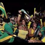 Halfway Tree celebrates Usain Bolt's 100m victory