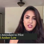 20 Yr Old Amber Low, From Flight Attendant to Pilot