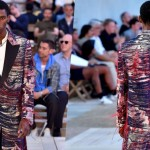 McQueen Transformed Rug Into a Coat for Spring 2018