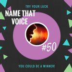 Name That Voice 50