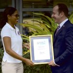 Her Majesty The Queen recognises St Lucian volunteer with Commonwealth Points of Light award