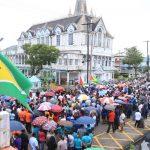 Sir Shridath Ramphal appeals for democracy in Guyana
